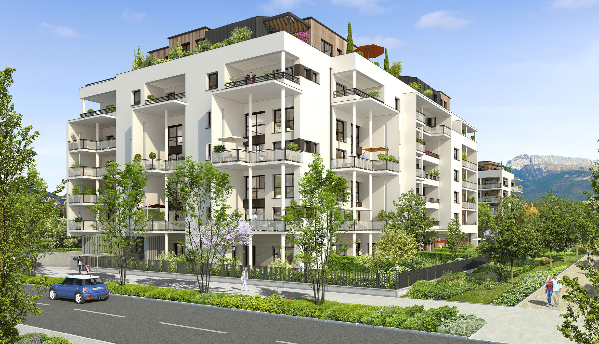 Appartement neuf annecy 74000 frontalier for Neuf appartement