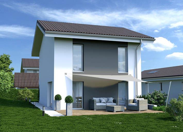 Maison neuve t4 et t5 bons en chablais 74890 frontalier for Achat maison neuve 53