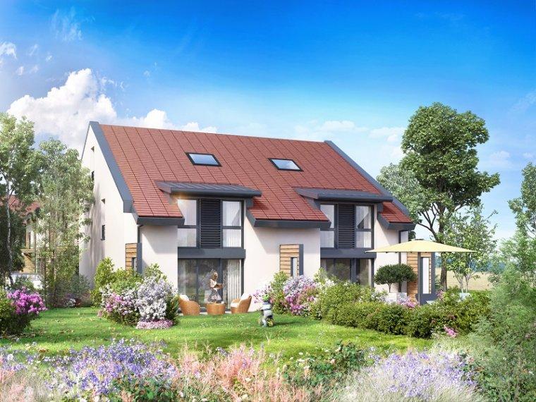 Maison neuve 4 chambres prevessin moens 01280 hameau for Recherche maison neuve